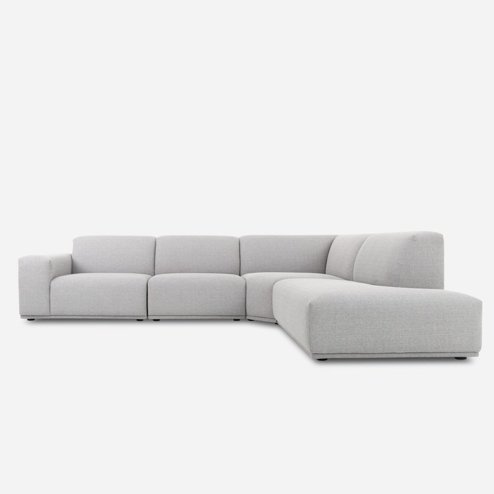 Kara Extended Sectional Chase Sofa - INDAHOUSE